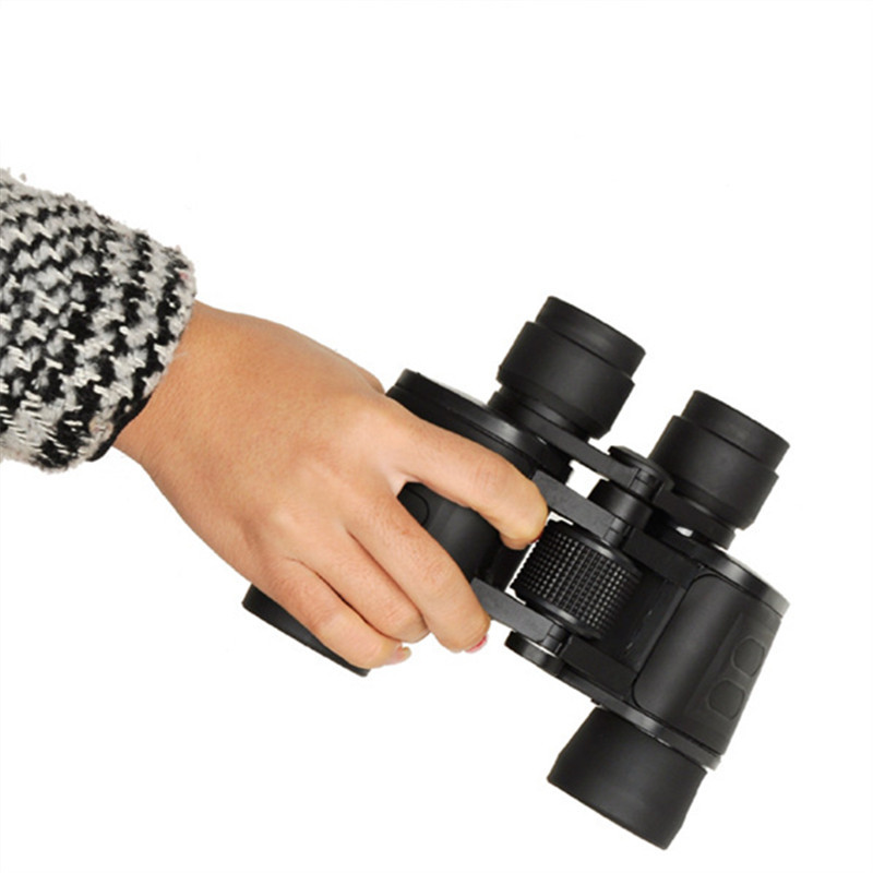 8x40 Powerful Army Waterproof Binoculars Hunting Camping Non-infrared Night Vision Optical Binocular Telescope Spotting Scope authentic bijia binoculars nitrogen waterproof hd non infrared night vision binocular telescope hunting support drop shipping