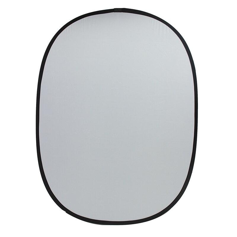 Date 5ftx7ft Double Face Photographie Fond Conseil Pliable Mobile Toile Tissu Lumière Diffuseur Rond Réflecteur Disque