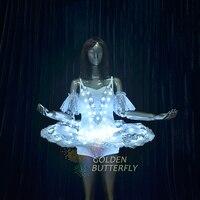 Led leucht dress ballett