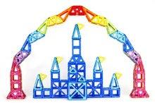 Enfants Jouet Briques 47 pcs 78 pcs de Construction Magnétique Jouets 3D Magformers Diy Building Block Cadeau Jouets