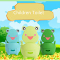 Baby travel  portable Potty Toilet plastic Urinals boy Drawer Frog Cartoon Toilet Training seat 1002