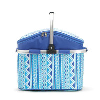 Summer Beach Travel Thickened aluminum Foil Cooler Bag Metal Handle Bosmina Style Ice Insulation Thermal Bag High Cool