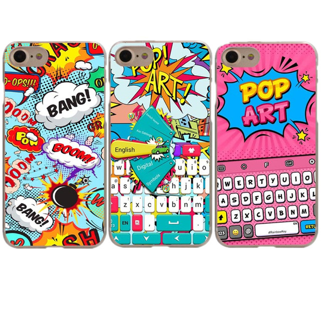 pop art iphone 8 plus case