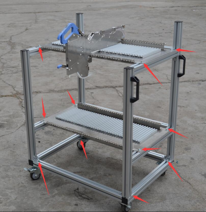 JUKI electroic feeder cart storage trolley cart juki mechanical feeder cart storage trolley cart