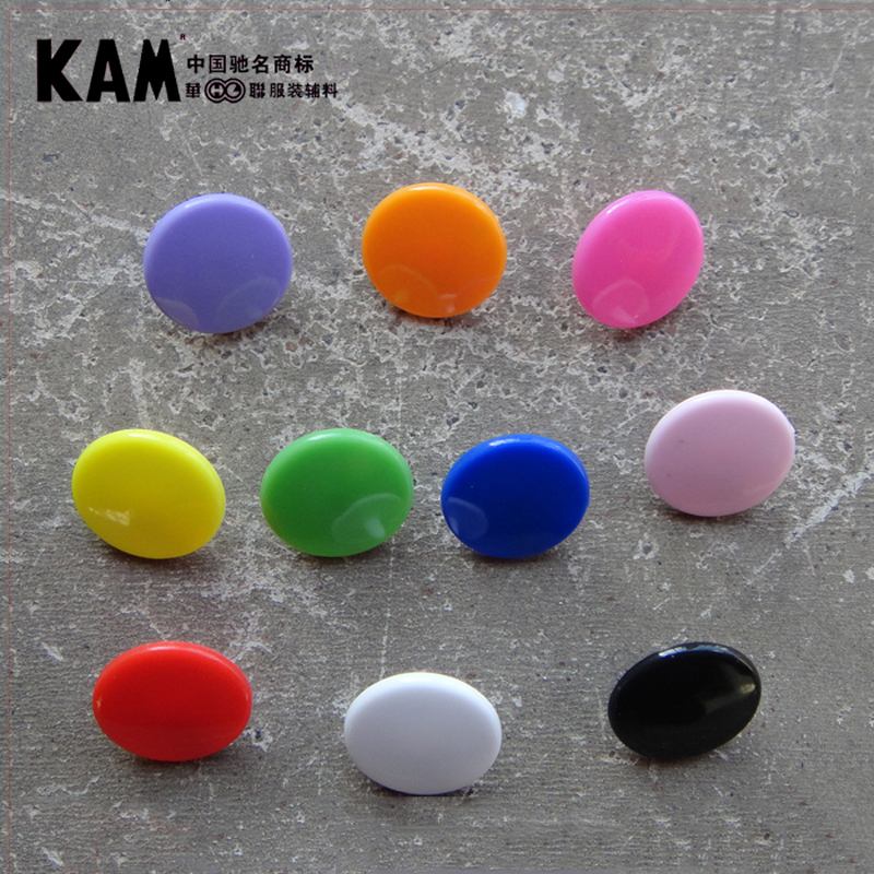 10 Colors Mixed 150 Sets KAM T3 16 10mm Glossy Plastic Snap Buttons Snap Fastener For Diaper DIY Kit Mixing