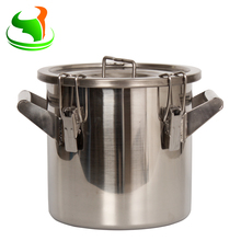 21 Liter New Type Stainless Steel 316 Material Milk Barrel with Lid for Dairy Farm commercial automatic 50l yogurt and fresh milk sterilizer milk sterilize machine for dairy farm milk pasteurizer
