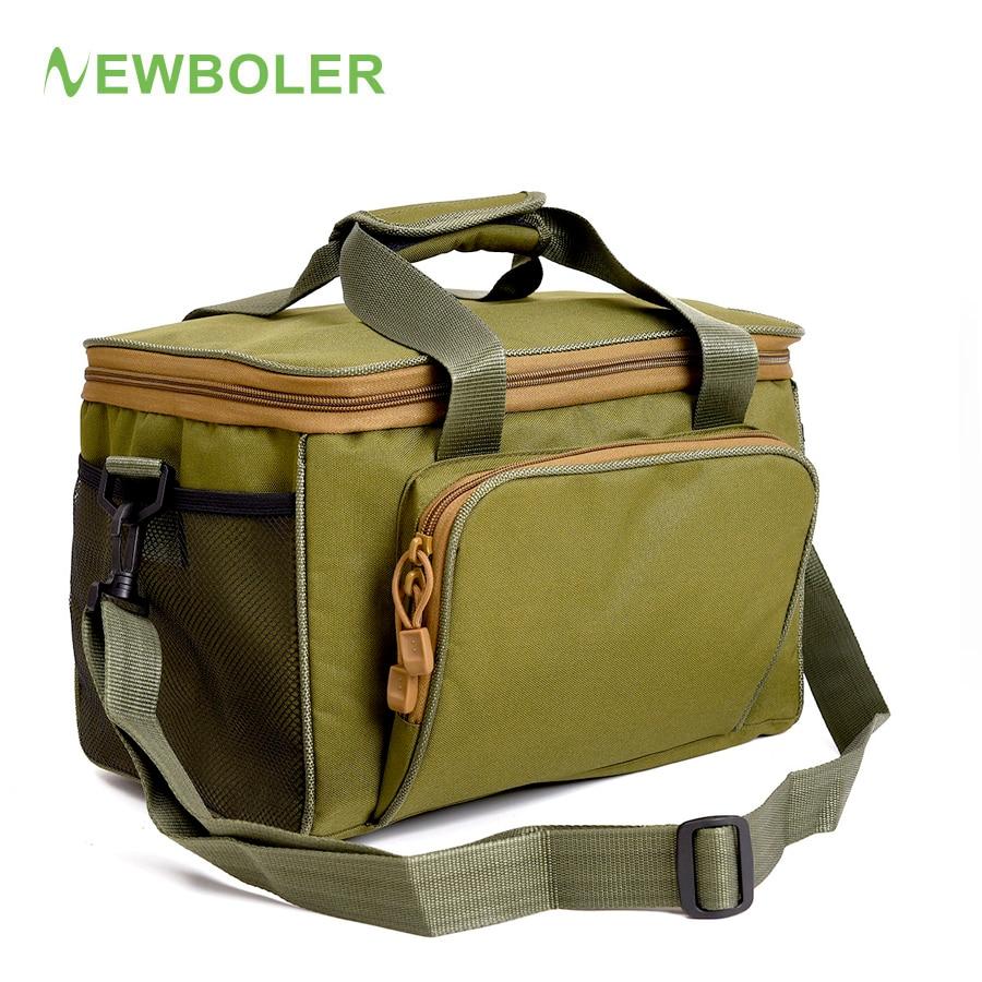 Newboler fishing tackle bags waterproof fishing lure bag for Fishing tackle bags