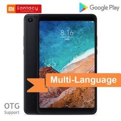 Многоязычная Xiaomi Mi Pad 4 32 ГБ/64 Гб LTE MiPad 4 Восьмиядерный Snapdragon 660 8-дюймовый HD экран Android 8,1 Mi Pad 4 планшет