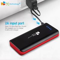 EC Technology Battery Bank Brand Power Bank 22400mAh 3 USB Powerbank Portable External Power Charger For
