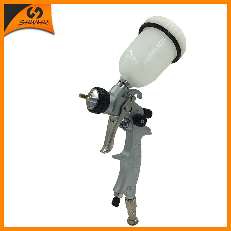 SAT1216 Spray Painting Cars Spray Gun Chroming Hvlp Spray Paint Gun Car Paint Sprayer цена