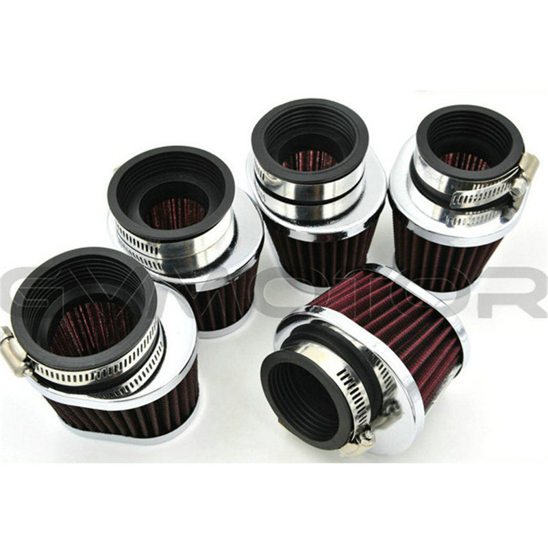 38mm 42mm 45mm 48mm 50mm 52mm <font><b>54mm</b></font> Oval Motorcycle <font><b>Air</b></font> <font><b>Filter</b></font> Retro Scooter Motorbike <font><b>Air</b></font> <font><b>Filter</b></font> Intake Cleaner Motorcycle part image