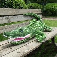 plush toy soft stuffed plush toy life like crocodile snake plush toy factory supply freeshipping