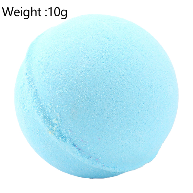 1pc Deep Sea Bath Salt Body Essential Oil Bath Ball Natural Bubble Bath Bombs Ball Rose Green tea Lavender Lemon Milk random 5