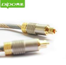 20m enthusiasts gold plated connectors SPDIF digital audio optical cable toslink fiber cables