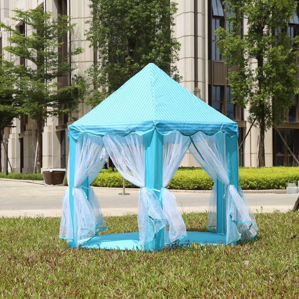 OuneedGame Tents Princess Castle Childrens Tent Game House For Kids Funny Portable Tent Baby Playing Beach Toys Outdoor *30