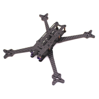 FLOSSTYLE 5 ACRO FREESTYLE FRAME FPV Racing Frame Kit with 5mm Arms for 22XX Motors Runcam micro camera
