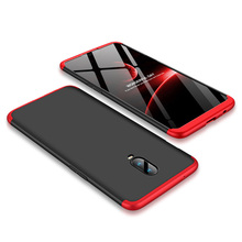 For OnePlus 7/6T 3 In 1 Full Body Protective CaseTempered Glass Screen Protector Anti Drop Back Cover