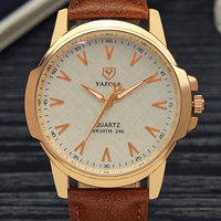 YAZOLE Top Brand Wrist Watch Men 2017 Luxury Famous Wristwatch Male Clock Quartz Watch Hodinky Quartz