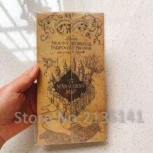 Карта мародера волшебник школьный билет студентов харрид коллекция подарки фанатов вечеринки
