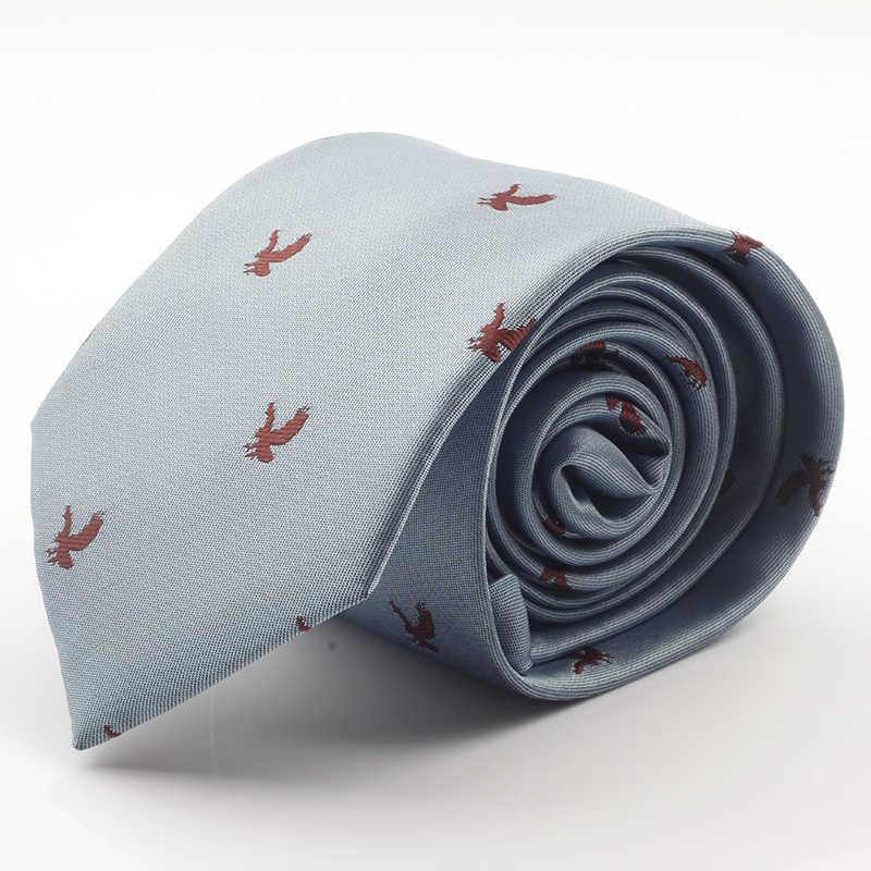 GUSLESON Nieuwe Ontwerp Merk Mens Ties zijde jacquard weave Dot Stropdas 7 cm corbatas Gravata Classic Fashion Business Tie Voor mannen