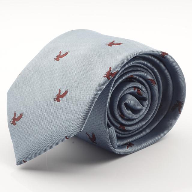 Corbata de seda jacquard, de punto de 7 cm