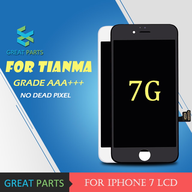GREAT PARTS 5PCS For tianma lcd Grade AAA Hot Sale For 7 LCD Display Screen Assembly