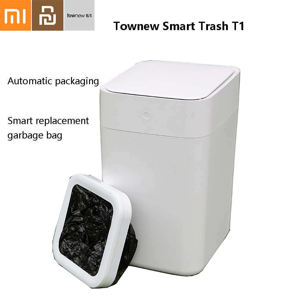 6 pièces Xiaomi Townew poubelle intelligente sac poubelle grande capacité sac poubelle