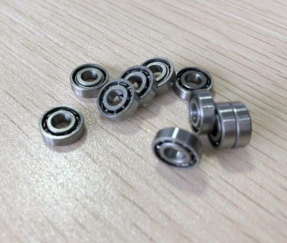 100pcs  687 Open Miniature Steel Ball Bearings 7x14x3.5 Deep Groove Ball Bearing  7*14*3.5 Mm