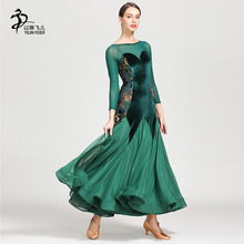 Ballroom Dance Competition Dresses Women Lady Waltz Dress Flamenco Dancing Costumes Standard Dance Dress