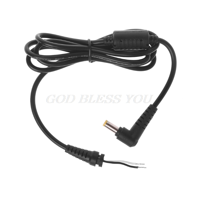 DC Charger Cable L Shaped Plug Connector Adapter With Pin For Hp Acer L