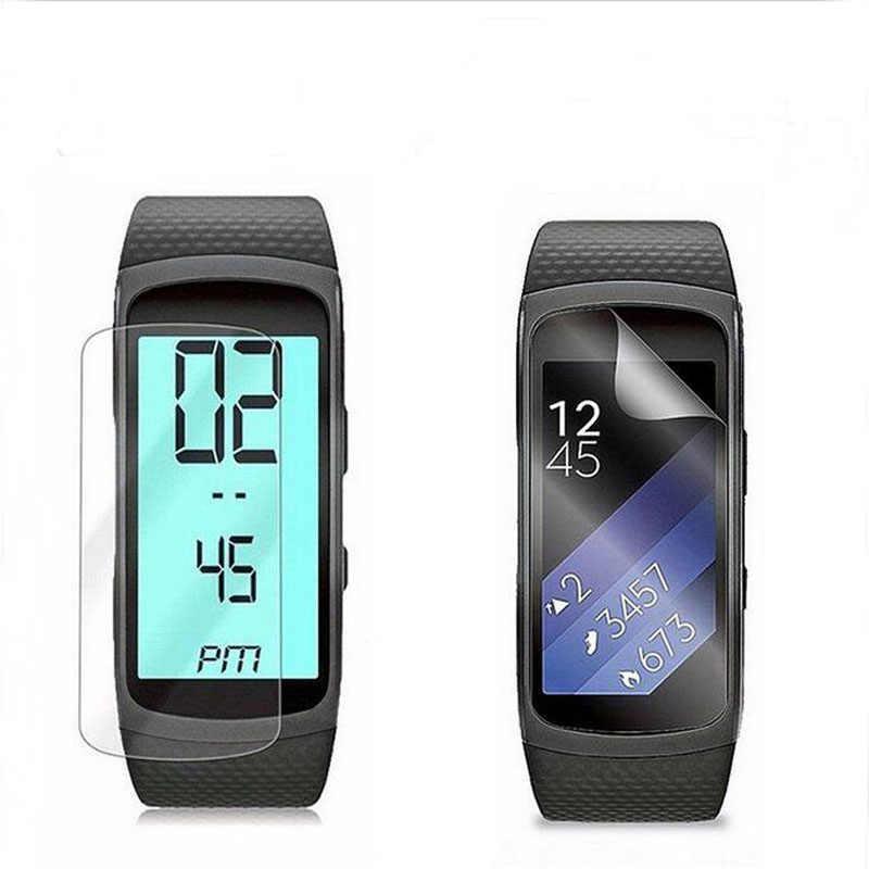 5 חתיכות נגד שריטות רך TPU Ultra HD ברור מגן סרט משמר עבור Samsung Gear Fit 2 Fit2 R360 מלא מסך מגן כיסוי