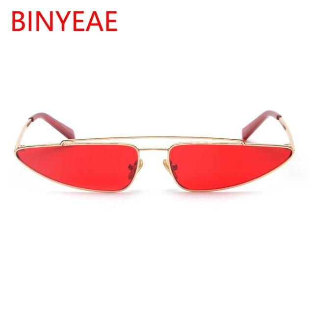 7749840b83c 2018 New Fashion European Style Women Men Small Alloy Frame triangle Shape  Sunglasses Unique Trend Narrow