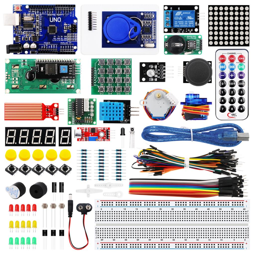 Image 2 - 10set/lot RFID Starter Kit for Arduino UNO R3 Upgraded Version Learning Suite Kit With Retail Box-in Integrated Circuits from Electronic Components & Supplies