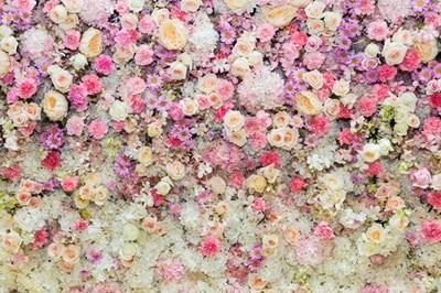 HUAYI 3x3ft Flowers Theme Art Fabric Newborn Backdrop Children Photography Prop Photo Background D-8194