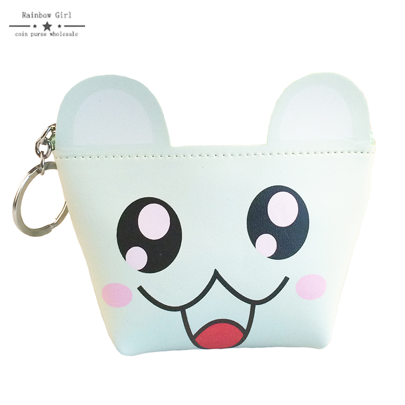 Rainbowgirl 2017 Character Big Capacity Coin Purse Fashion Kids Purse Wallets Money Bag Change Pouch Female Coin Key Holder