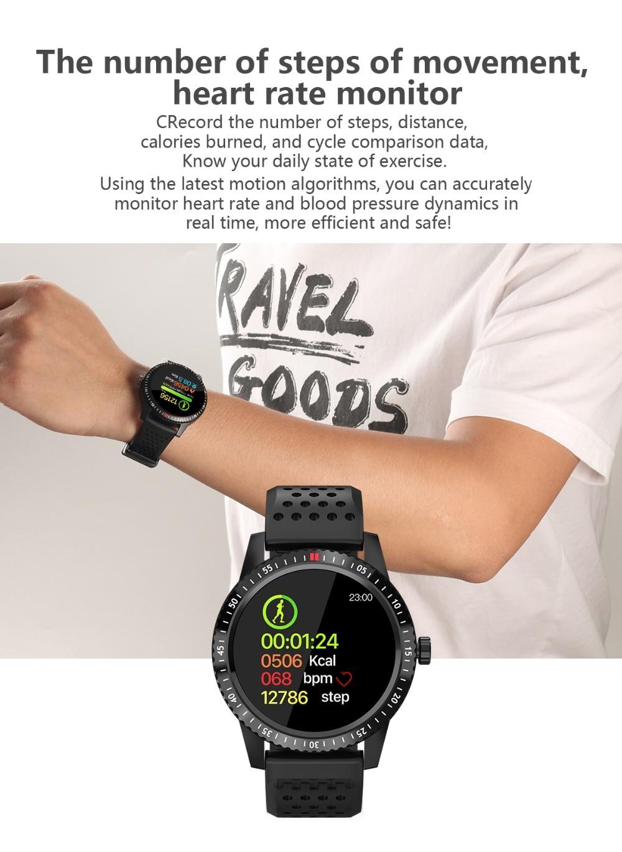 DIGOOR Smart Watch women IP67 waterproof Support Blood pressure  Women Cycle monitoring GPS tracker Heart rate Fitness bracelet Smartwatch (3)