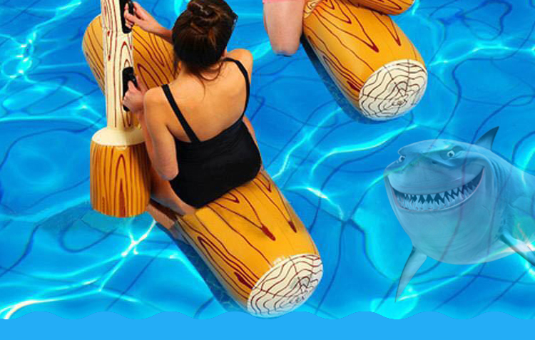 4 Pieces Pool Float Game Inflatable Water Sports Bumper Toy For Adult Children