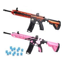Пластиковый игрушечный пистолет M416 Пейнтбольный гелевый шар водяные пули оружие детские игрушки пистолет для мальчиков Игрушка для игр на открытом воздухе для детей Рождественский подарок