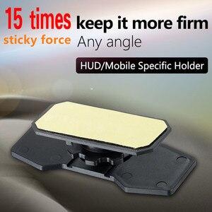 Image 2 - GEYIREN 2017 car HUD head up display bracket flexible 360 adjustment smartphone holder for any size mobile HUD Navigation E dog