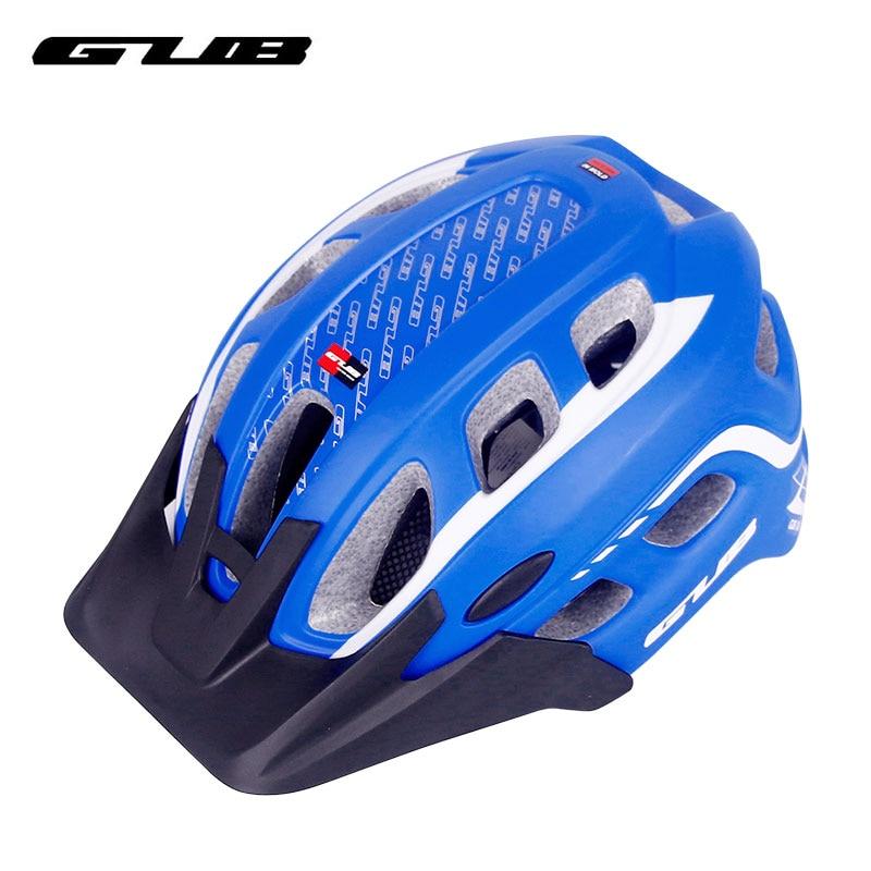 GUB Fahrradhelm Integral geformte 19 Belüftungsöffnungen Fahrradreitschutzkappe Mit Krempe Unisex Wear XX6