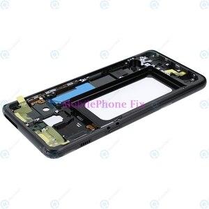 Image 4 - LCD Front Frame Midden Behuizing Bezel Chassis Voor Samsung Galaxy A8 2018 A530 Terug Faceplate Met Zijknoppen Onderdelen