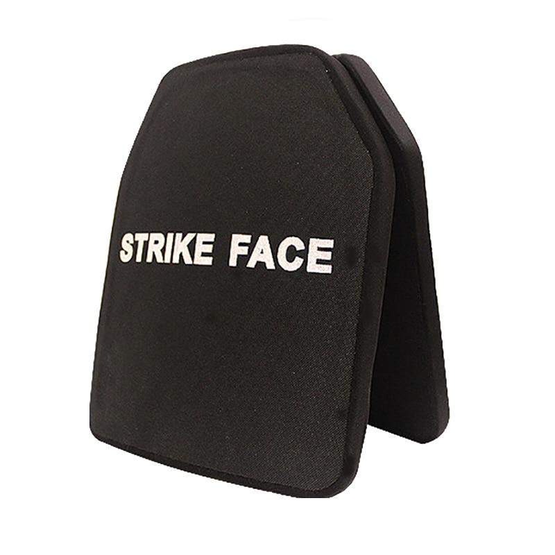1pc Strike Face Ceramic Ballistic Plates NIJ IV Ceremic + PE Bulletproof Plate
