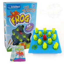 Frog puzzle game family / party friends 3-7 years old jump best gift for children fun intellect