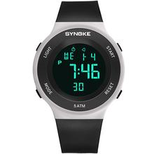 relogio Unisex Outdoor Waterproof Alarm Plastic Band Date Display Sports Wrist Watch Unisex Digital relogio watch soxy relogio wat1316
