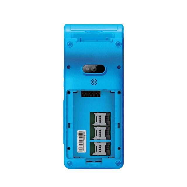 5.5 pouces terminal de position tenu dans la main android PDA scanner de poche nfc caméra RFID wifi lecteur de codes à barres android tablette pc PDA 2