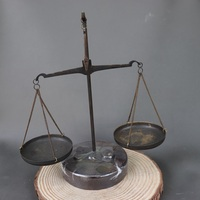 China Old Beijing old goods Bronze Balance scales are Weight balance