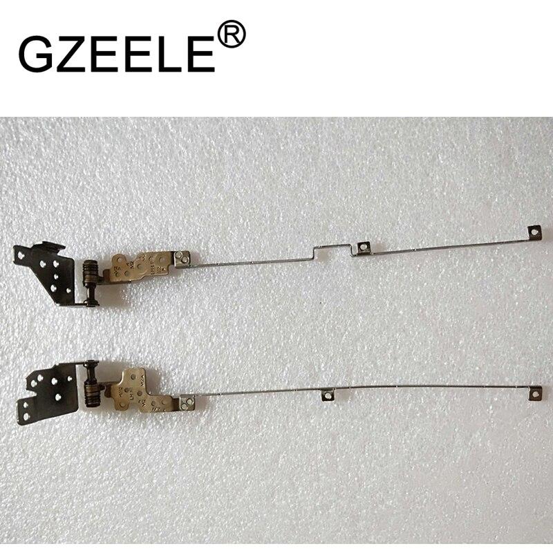 GZEELE New LCD Screen Hinges R L For MSI GL62 GP62 GP62M GL62M GL62VR MS 16J9