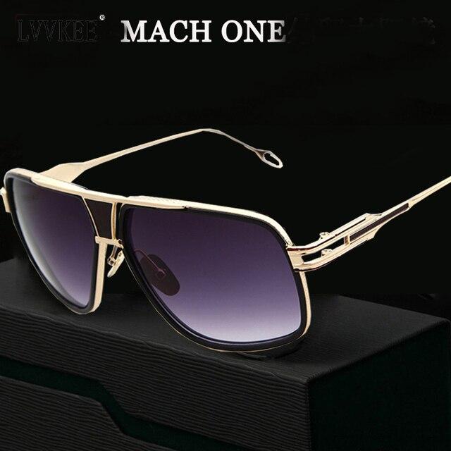 29223c1ade049 New arrival grande mestre óculos de sol das mulheres homens 18 k glod mach  um