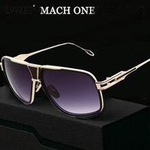 New arrival grandmaster Sunglasses women/men 18K Glod Sunglass brand designer Mach One Vintage Oversized Lady Celebrity eyewear