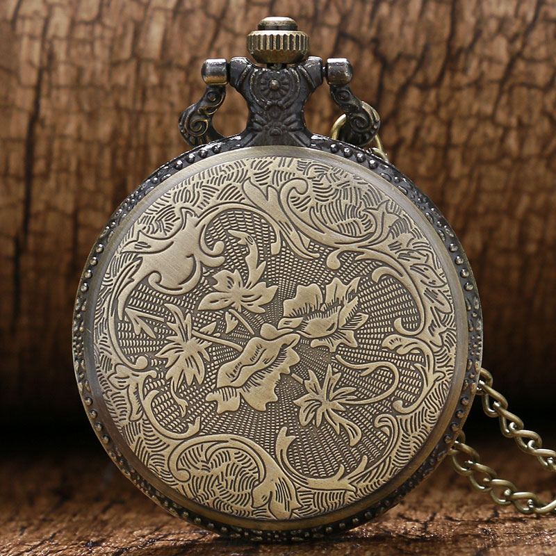 b994a2701 Vintage Bronze police to protect and serve Pocket Watches Women Men Laides  Kids Steampunk Pocket Watch with Chain Pendant-in Pocket & Fob Watches from  ...